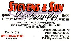 Stevens & Son Locksmiths